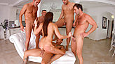 Tina Kay Gangbang Part 1 screenshot #82