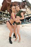 Brittney & Stefani pic #2